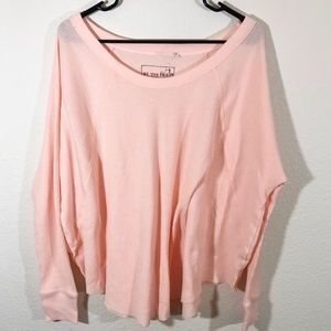 ✨ We The Free pink thermal sweater ✨